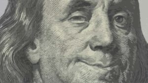 Benjamin Franklin is the Founding Father Who Winks at Us